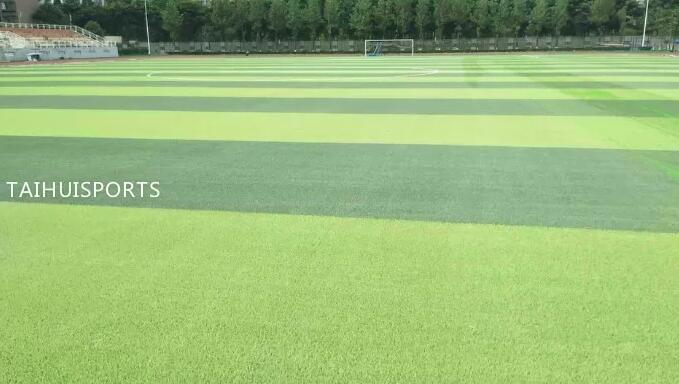 Water Proof Synthetic Grass Shock Pad Double-Sided Grooved Underlay For Football Baseball Sports Court No Odor