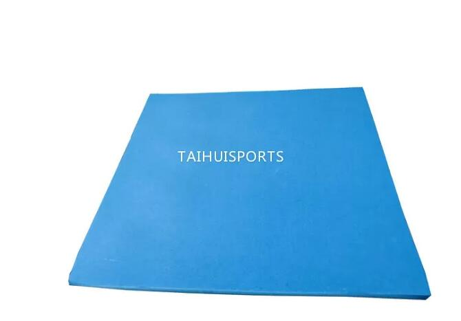 UV Resistant Two Sides Slotted Playground Underlayment PU Foam Shock Pad For Artificial Turf No Pulverize