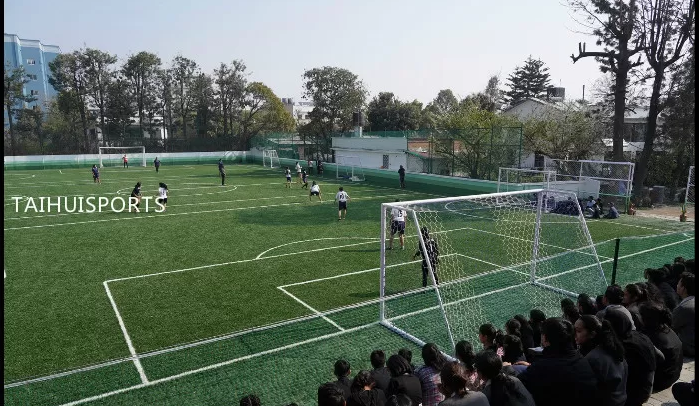 Low Bulk Density UV resistance Artificial Turf Infill TPE Rubber Granules Recyclable For Outdoor Soccer Fields