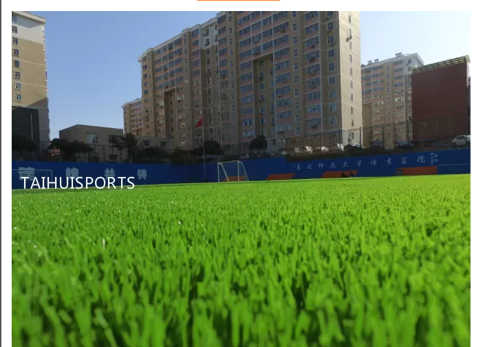 PE Foam Two Sides Slotted Water Proof Landscape Fake Grass Underlay For Artificial Turf Three Layers Various Thickness